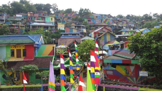 rainbow village indonesia